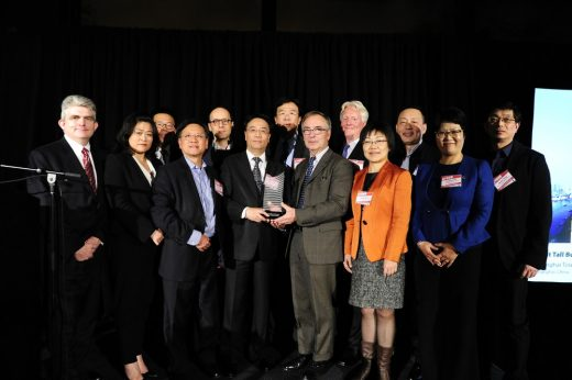 Shanghai Tower team accepts Best Tall Building Worldwide