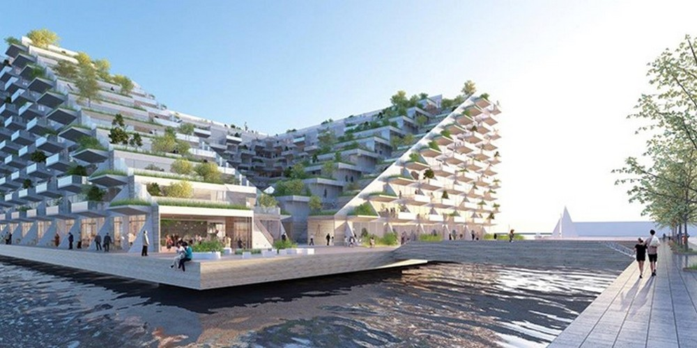 Sluishuis ijburg building design in amsterdam harbour e for Product design jobs amsterdam