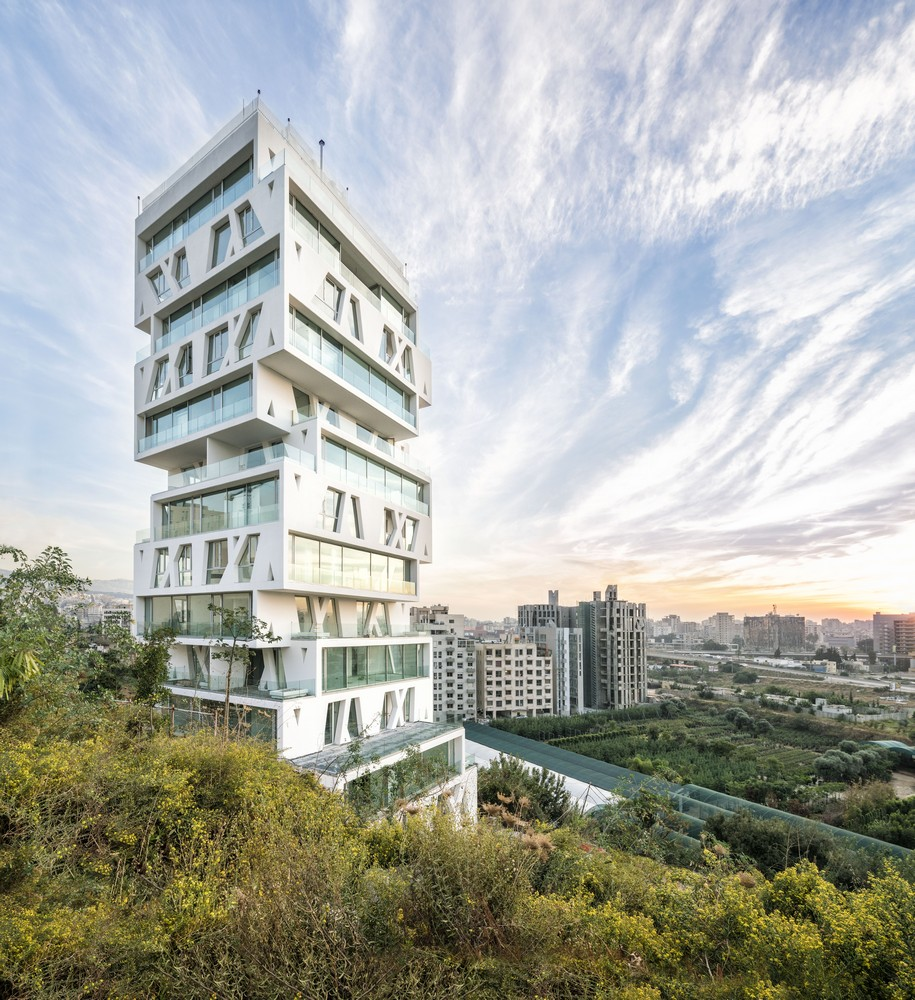 Best Home Design: The Cube Beirut, Lebanese Tower: Apartments