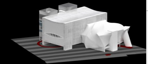 The Factory Manchester Arts Building design