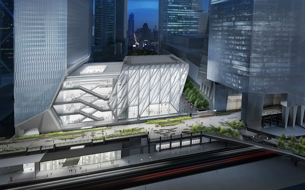 The shed arts center building new york e architect for Architecture jobs nyc