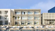 The Sofitel Tamuda Bay in Morocco facade