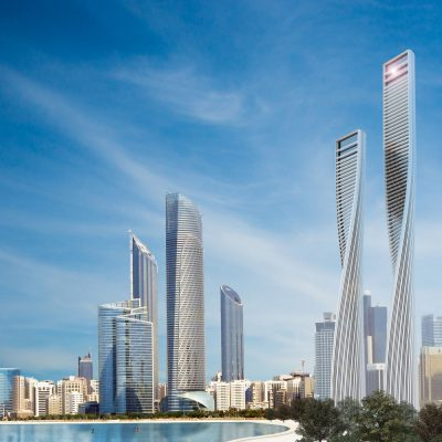 Twisted Towers in Abu Dhabi