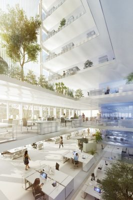 Cologne Work Building design by HOLODECK architects