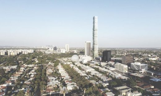 Wilshire Tower proposal by PAR in Los Angeles