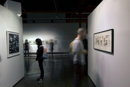 Drawing Show Exhibition at Architecture and Design Museum, Los Angeles