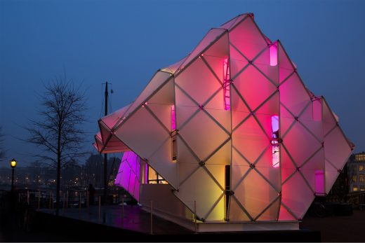 Eye_Beacon Pavilion Amsterdam Light Festival
