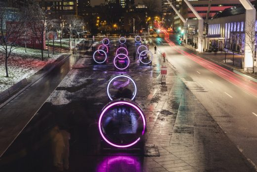 Giant Illuminated Wheels