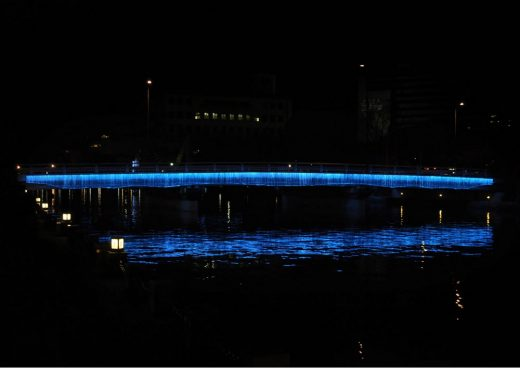 Indigo Waterfall Tokushima LED Art Festival