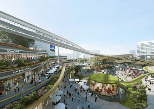 Integrated Commercial and Transportation Hub