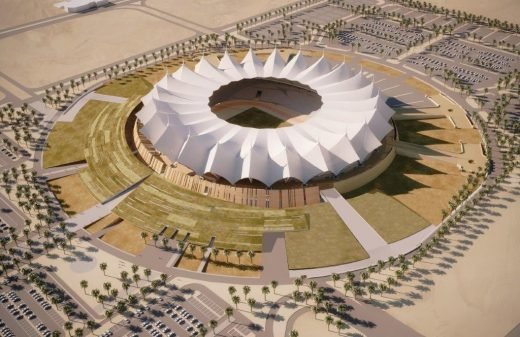 King Fahd International Stadium in Riyadh