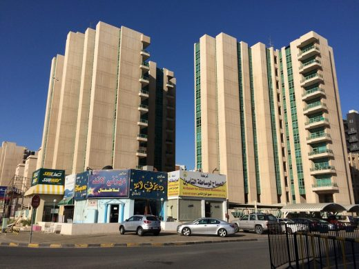 Kuwait apartment building in Modern style