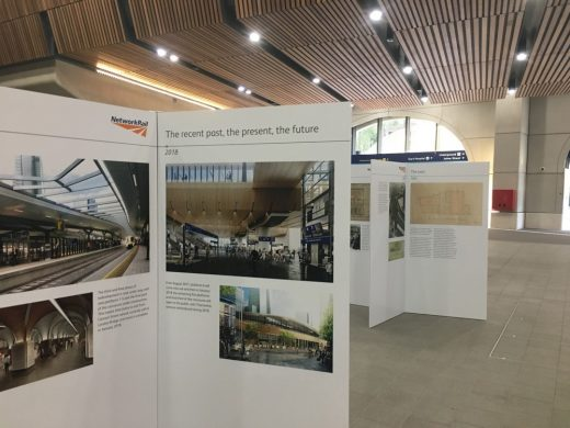 London Bridge Station pop-up exhibition