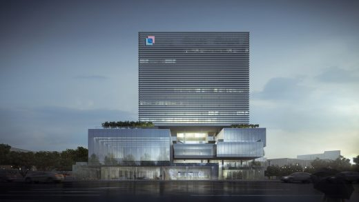 Main Building of Guangdong, Macau Traditional Chinese Medicine Science and Technology Industrial Park, Zhuhai, China, by Aedas