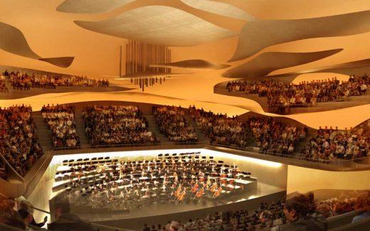 Philharmonie de Paris building design by Jean Nouvel