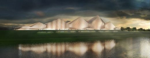 Science Island International Design Contest entry by SimpsonHaugh and Partners