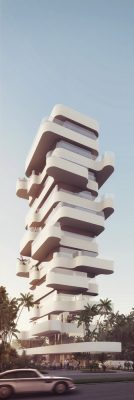 Terra Project Residential Tower in Limassol - Cyprus Architecture News