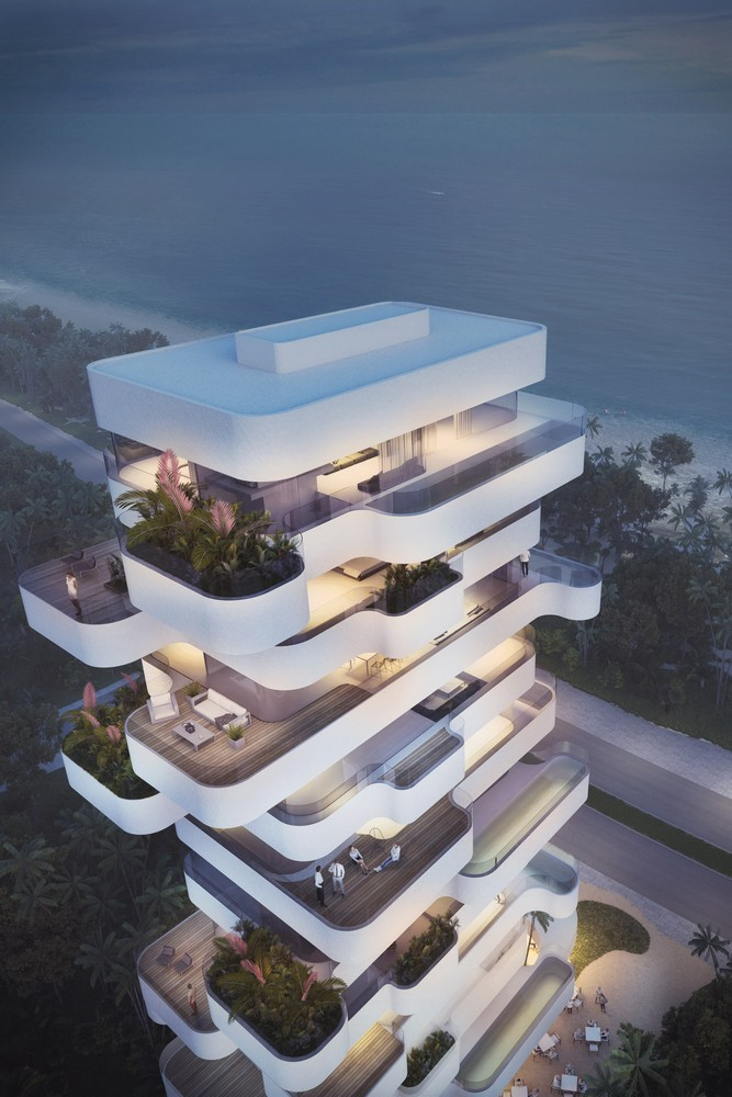 Terra project residential tower in limassol e architect for Best hotel design 2016