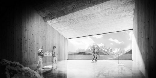 VCS - Unesco Visitor Center Sesto building design