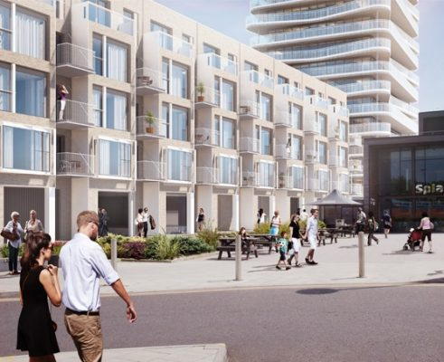 Worthing Seafront neighbourhood by Allies and Morrison
