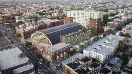 Bedford Union Armory in Crown Heights