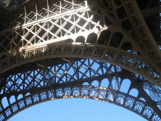 Eiffel Tower Paris building structure