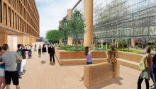 new Frank Gehry Eisenhower Memorial design