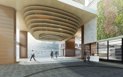 Gaysorn 2 Plaza design by CL3, Architects