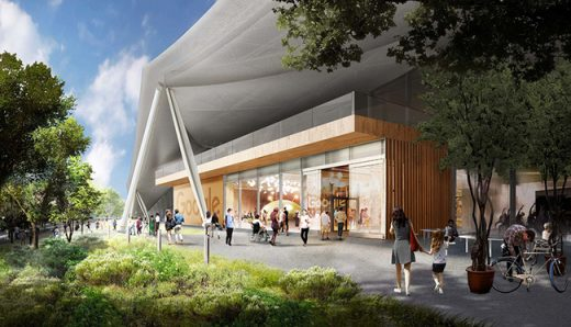 Google Campus Building Design in Mountain View