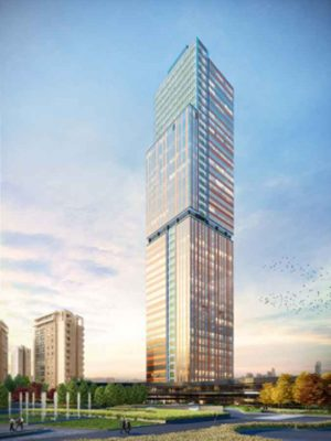 Palladium Tower Project Istanbul building