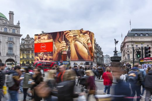 Piccadilly Lights Renewal design
