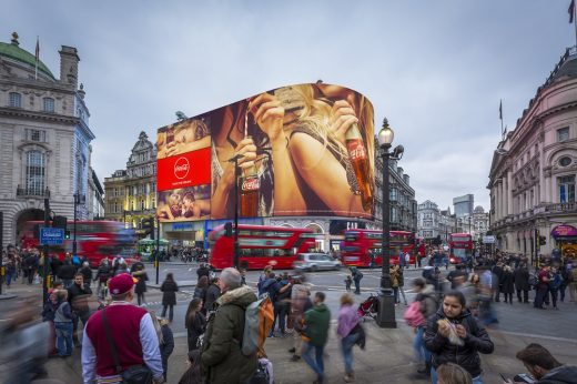 Piccadilly Lights Renewal London