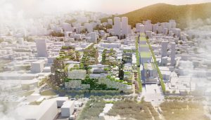 Sewoon District #4 area in Seoul design by KCAP