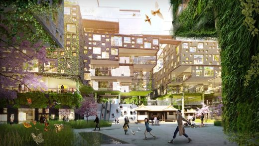Sewoon District #4 area in Seoul building design by KCAP