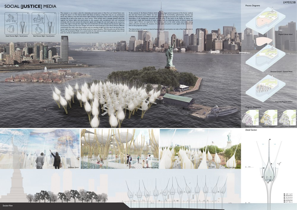 Statue of Liberty Museum Competition