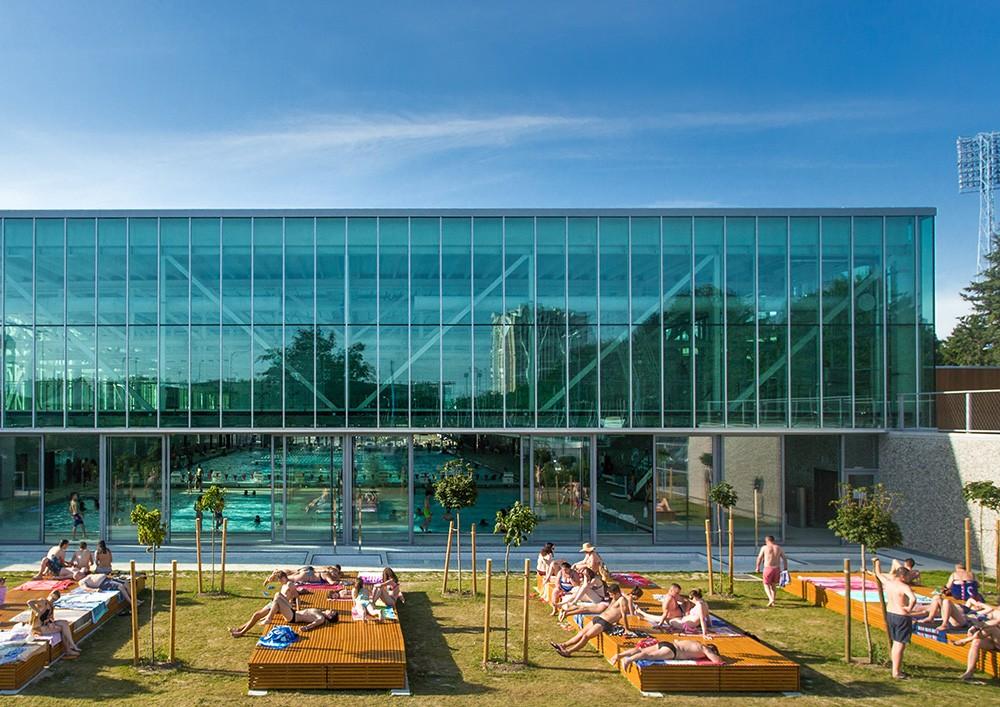 Swimming Pool Complex Svetice Croatia E Architect