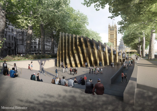 National Holocaust Memorial shortlisted design by Adjaye Associates