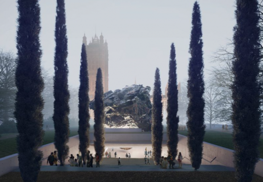 National Holocaust Memorial design by Zaha Hadid Architects with artist Anish Kapoor
