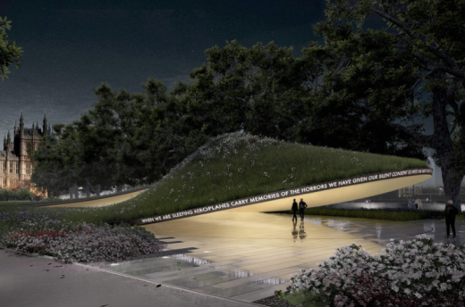 National Holocaust Memorial shortlisted design by Allied Works