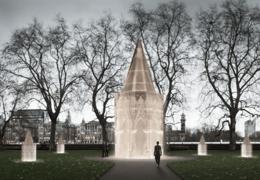 National Holocaust Memorial design by Caruso St John with artist Rachel Whiteread
