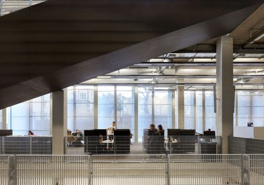 University of Greenwich London building by Heneghan Peng Architects