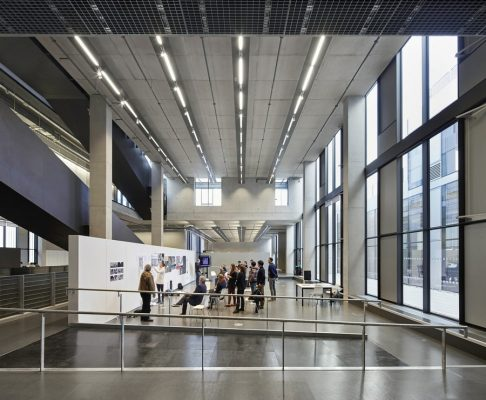 University of Greenwich atrium by Heneghan Peng Architects