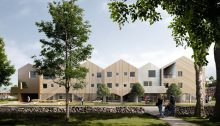 Vardheim Healthcare Centre building in Norway | www.e-architect.co.uk