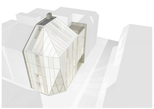Bulgarian commercial building design by MMXX Architects