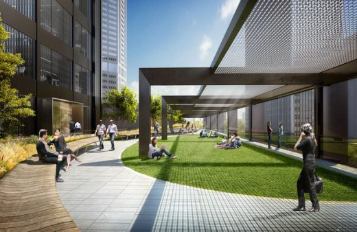 Willis Tower Building landscape
