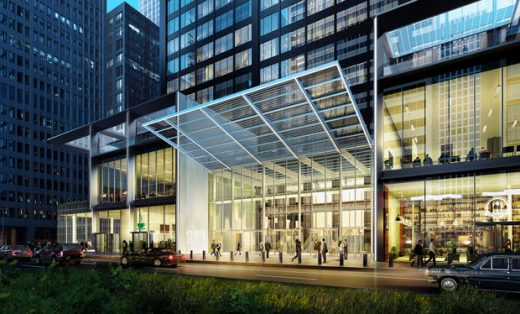 Willis Tower Building southeast corner