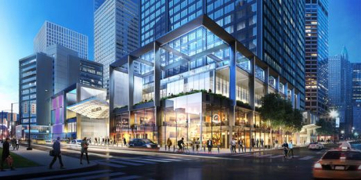 Willis Tower Building Wacker Drive entry
