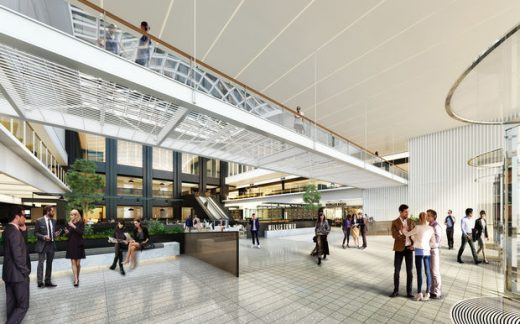 Willis Tower Building winter garden entrance