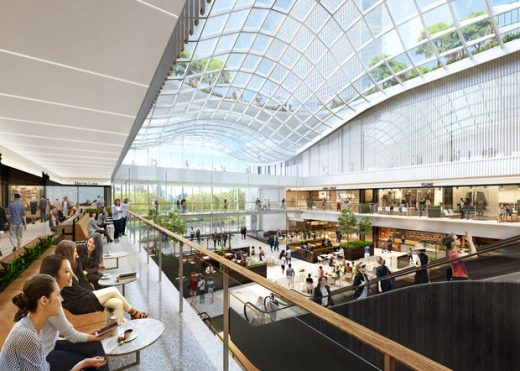 Willis Tower Building winter garden