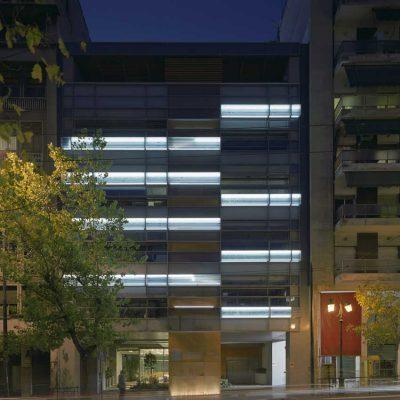 Office Building Athens facade Greece